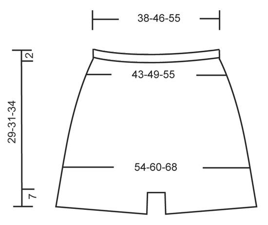 схема шортиков для девочки