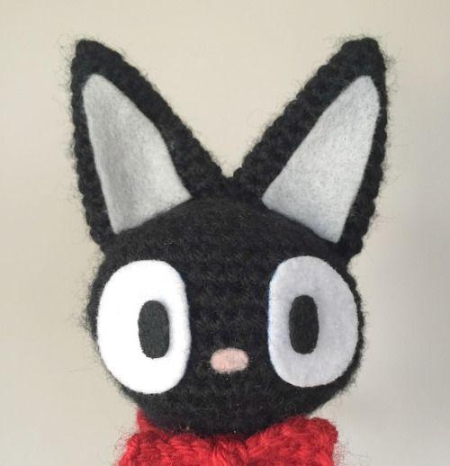 котик крючком Джиджи