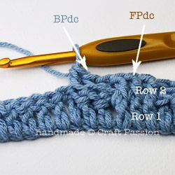 Детский плед крючком-первые 2 ряда