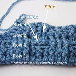 Детский плед крючком- четыре ряда