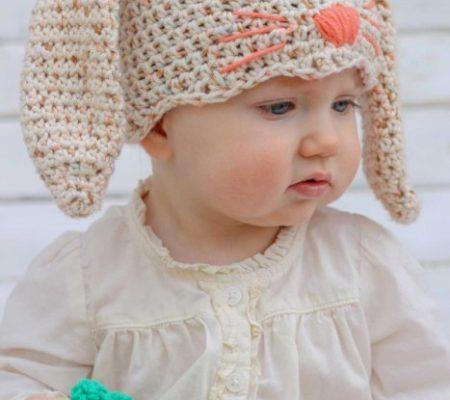 Шапка крючком для малыша - 1