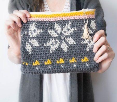 Схема вязания крючком летней сумочки - 1