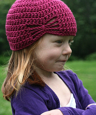 Летняя шапочка для девочки крючком - 3