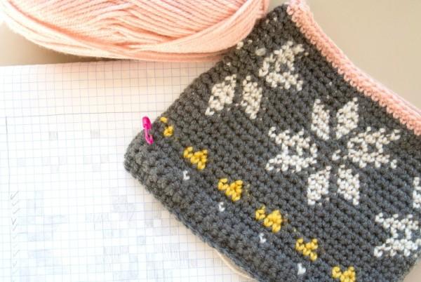Вязанная сумочка крючком для девочки