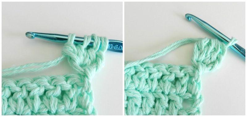 Коврик крючком для начинающих-начало плетения помпончика