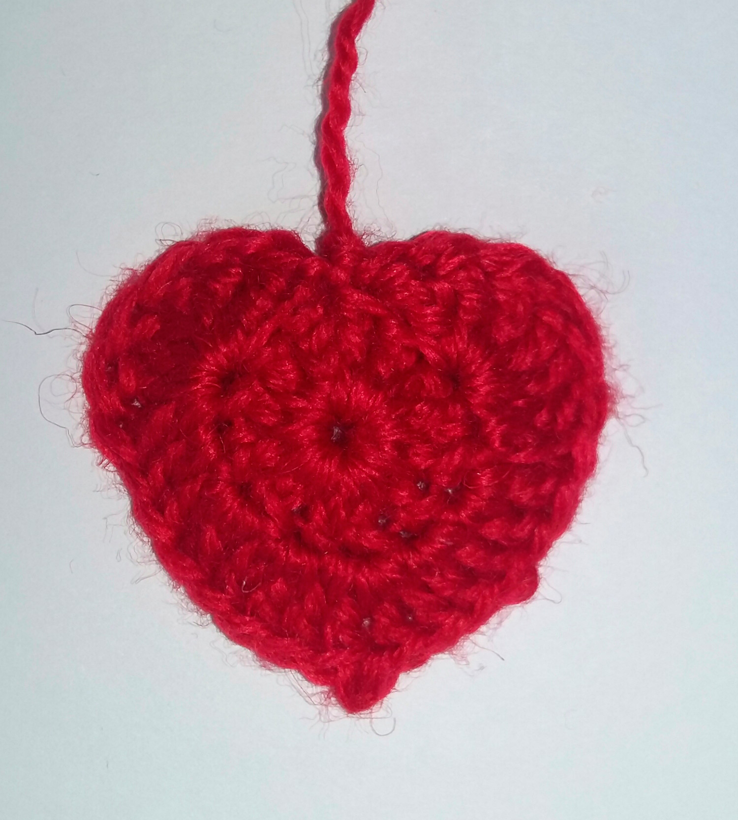 Объемное сердце крючком схема фото 959