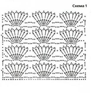 Схема кофточек крючком для девочек