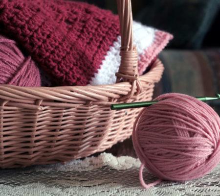 Пряжа для вязания крючком