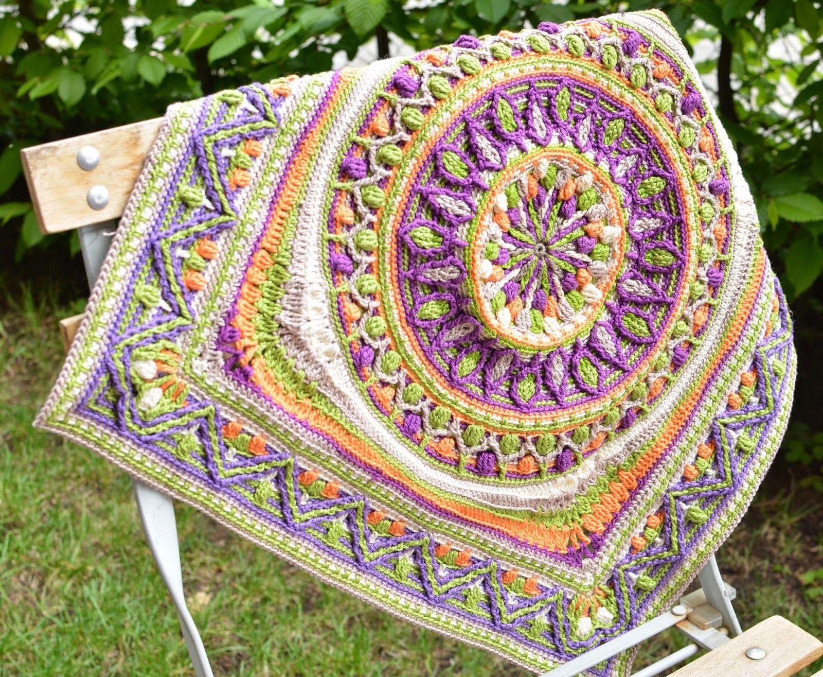 Многоцветное вязание 2