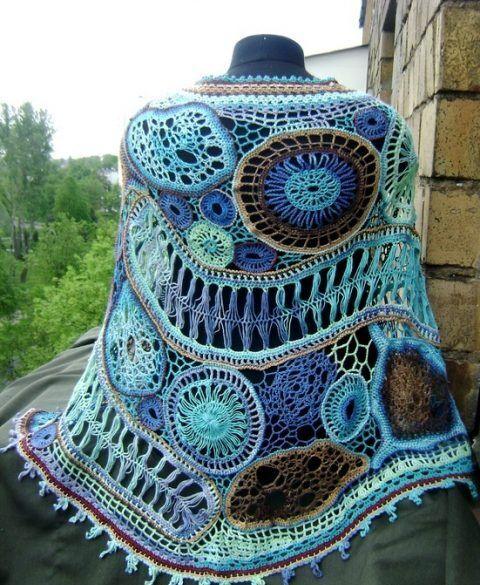 Многоцветное вязание 3